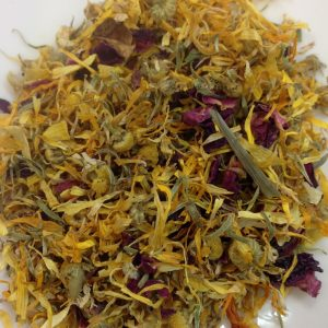 Calendula with Camomile and Rose