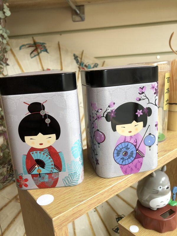 Tea Caddy Little Geisha